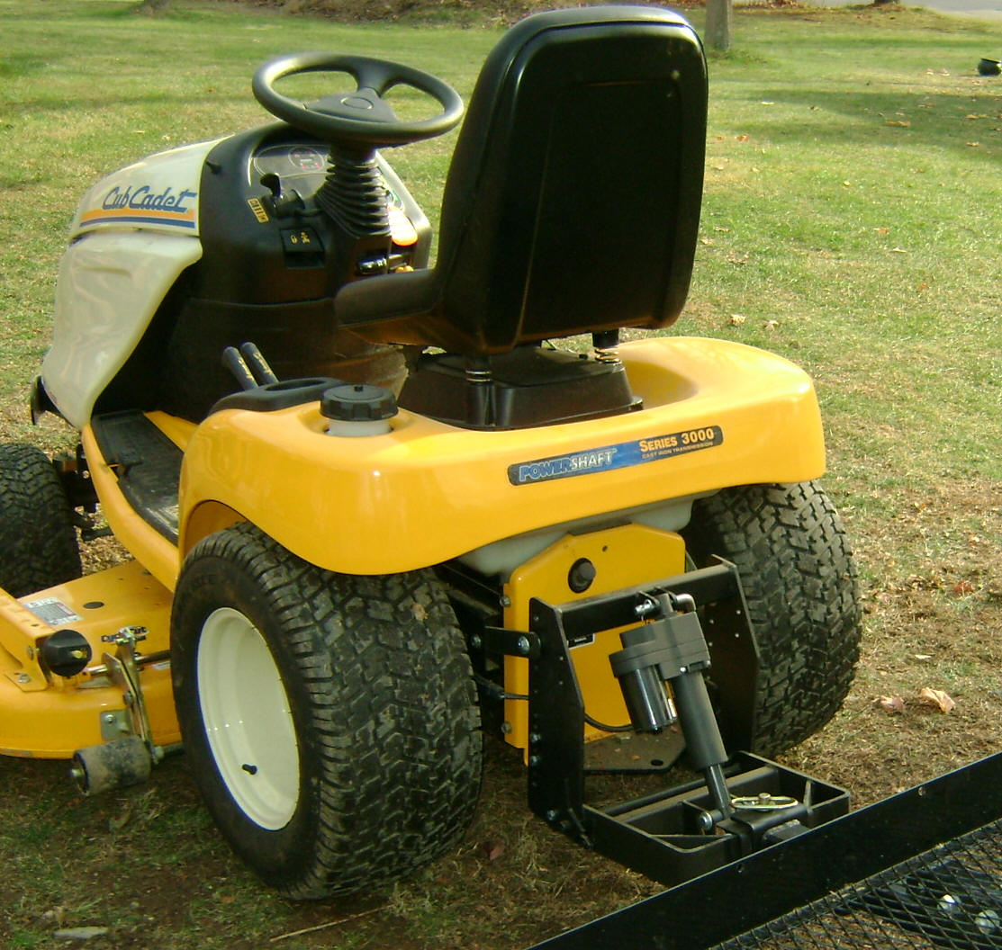 Garden Tractor 3pt Hitch : Universal sleeve hitch
